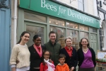 Bees for Development & Thomas Family Outside BfD Shop